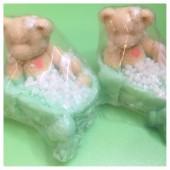 Мишка в ванне. Мыло ручной работы  70 гр