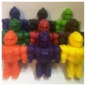 3 робота. Разный цвет. Мыло ручной работы. 200 гр