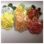 3 цветка. Мыло ручной работы. 100 гр