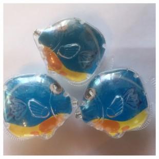 3 шт. Рыбки цветные