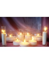 № 2. Набор насыпных свечей. Organika