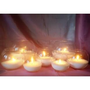 Набор насыпных свечей. Organika