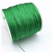 Нефрит цвет. Нейлоновый шнур/нить из полеэстера 0.8 мм. Для бисера, макраме, плетения. 100м/кат
