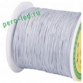 Голубой цвет. Капроновая нить для рукоделия и плетения 100м/кат