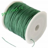 Зеленый цвет. Капроновая нить для рукоделия и плетения 100м/кат