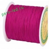 Фуксия цвет. Капроновая нить для рукоделия и плетения 100м/кат