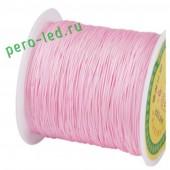Розовый цвет. Капроновая нить для рукоделия и плетения 100м/кат