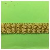 1 м. Золото цвет. Тесьма отделочная. Вьюнчик. № 88