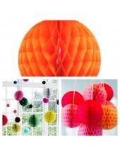 1 шт. Оранжевый цвет. Фонарики цветные. Размер 15 см.