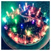 10 шт. Мульти цвет. Светодиоды для торта