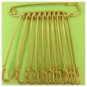 Золото цвет. Булавки декоративные 10 шт