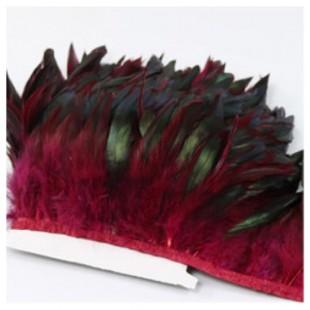 Тесьма. Перья петуха на ленте 14-19 см