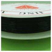 0.3 мм. 50 м. Черный цвет. Проволочка для рукоделия