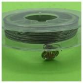 0.3 мм.10 м. Серебро цвет. Проволочка для рукоделия
