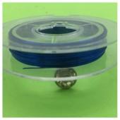 0.3 мм.10 м. Синий цвет. Проволочка для рукоделия
