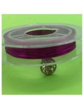0.3 мм.10 м. Фуксия цвет. Проволочка для рукоделия