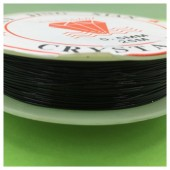 0.5 мм. 25 м. Черный цвет. Проволочка для рукоделия 0.5 мм