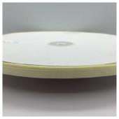 Молочный цвет. Репсовая тесьма для рукоделия 0.6 мм. 100 м