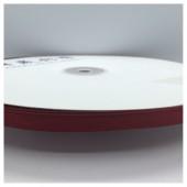 Бордо цвет. Репсовая тесьма для рукоделия 0.6 мм. 100 м