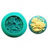 3D Силиконовая форма для мыла. Букет. 4 х 4 см № 10