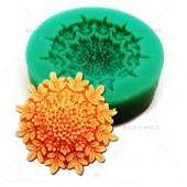 3D Силиконовая форма для мыла. Цветок. 4 х 4 см № 12