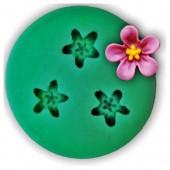 3D Силиконовая форма для мыла. Цветок. 4 х 4 см № 13