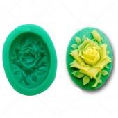 3D Силиконовая форма для мыла. Роза. 5 х 3 см № 9