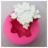 3D Силиконовая форма для мыла. Орхидея. 70 гр. № 1
