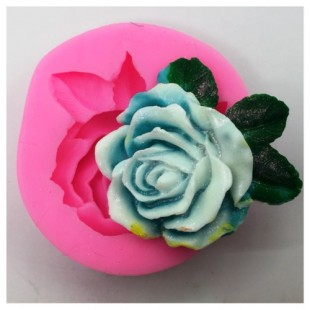 3D Силиконовая форма для мыла. Роза. 30 гр. № 6