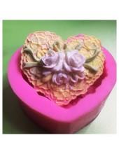 3D Силиконовая форма для мыла. Цветы. 100 гр. № 25