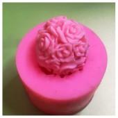 3D Силиконовая форма для мыла. Цветок. 50 гр. № 27
