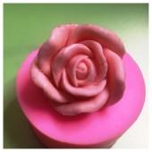 3D Силиконовая форма для мыла. Роза. 80 гр. № 35