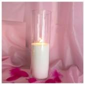 Насыпная свеча. Колба цилиндр 60 х 20.