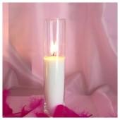 Насыпная свеча. Колба цилиндр 35 х 10