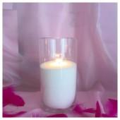 Насыпная свеча. Колба цилиндр 20 х 10