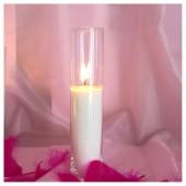 Насыпная свеча. Колба цилиндр 23 х 5