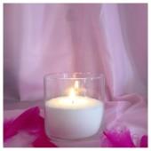 Насыпная свеча. Колба цилиндр 10 х 10