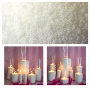 10 кг. Белый цвет. Насыпной воск для свечей. Organika