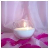 Насыпная свеча. Шар колба 16 х 13