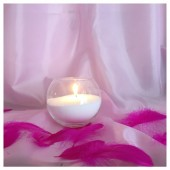 Насыпная свеча. Шар колба 12 х 10