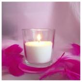 Насыпная свеча. Конус стакан свеча 8 х 9