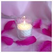 Насыпная свеча. Кубики стакан свеча 8 х 8