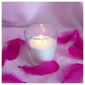 Насыпная свеча. Волны стакан свеча 8 х 8