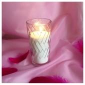 Насыпная свеча. Высокая свеча кубики 12 х 6