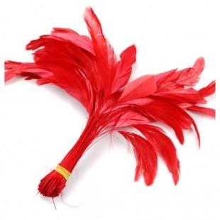 20 шт. Красный цвет. Кисточка 10-20 см.