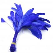 20 шт. Синий цвет. Кисточка 10-20 см.