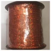 6 мм. 100 м. Оранжевый хамелеон цвет. Пайетки нить