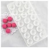 3D Силиконовая форма для мыла. Роза. 40 гр. № 43