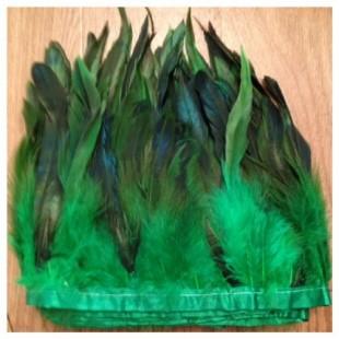 Перья петуха на ленте 14-19 см