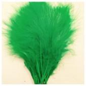 20 шт. Нефрит цвет. Перья боа марабу 8-12 см